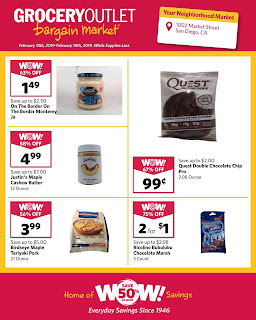 Grocery Outlet circular Feb 13 - Feb 19, 2019
