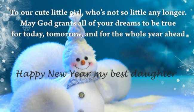 Free Happy New Year Wishes Daughter 2019 From Mothers Maa Durga