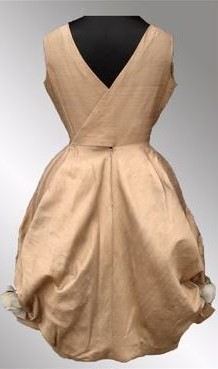 The trademark Pierre Cardin bubble dress of the 1950s