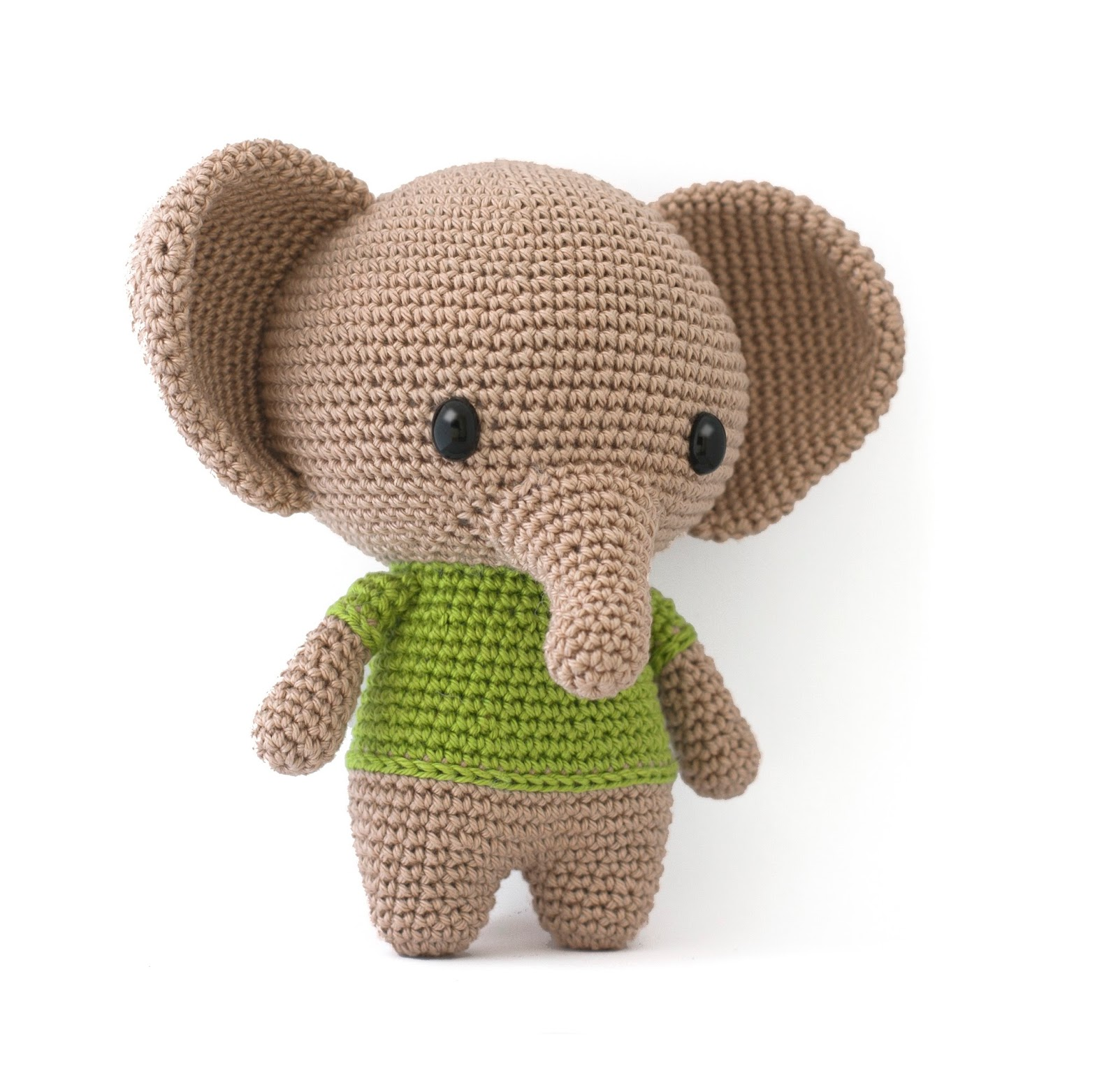 Toy Patterns by DIY Fluffies : Joe the elephant crochet ...