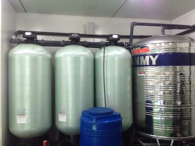 Lọc nước giếng công nghiệp