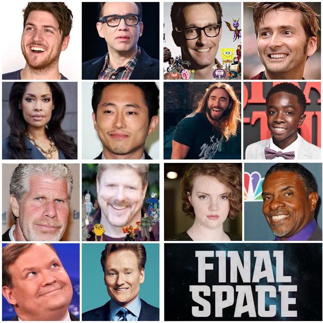 David Tennant - Final Space