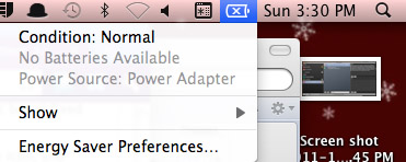 My Macbook Battery Icon Shows A Black X Fixed Hawkdive Com