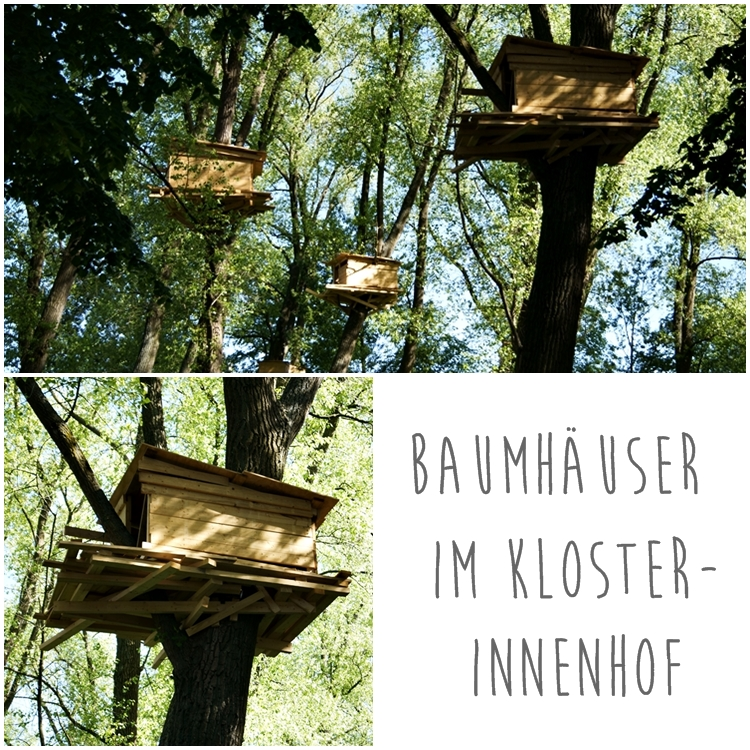 Baumhäuser im Kloster-Innenhof in Brügge { by it's me! }