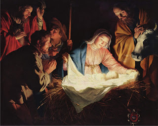 Kelahiran Yesus di Kandang Domba
