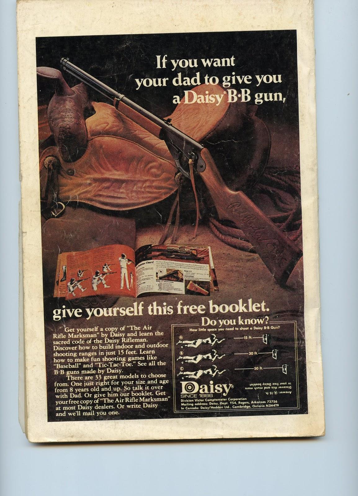 Scanned Vintage Graphics: Daisy BB Gun Ad