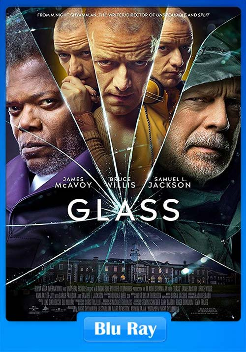 Glass 2019 Hindi Dual Audio 720p BluRay ESubs x264 | 480p 300MB | 100MB HEVC