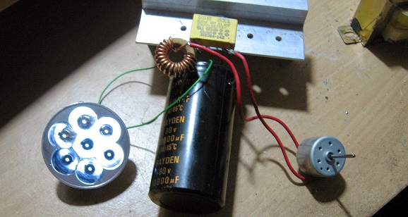 Make a simple generator free energy of the former dynamo dvd