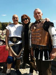 Eu, turistando no Circo Máximo dia 21.04.2017 com o Gruppo Storico Romano