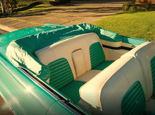 1956 Lincoln Premiere Convertible Seats