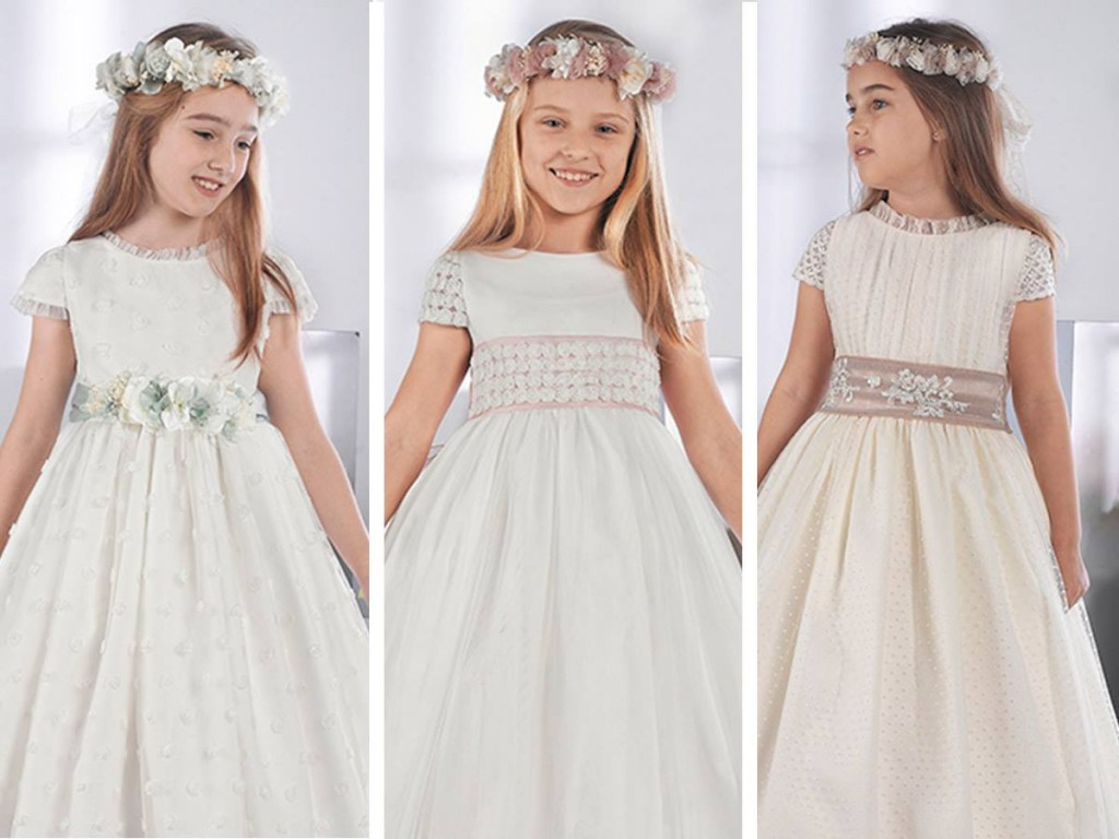 White Wedding Dresses For Children 2018 Its A Girl