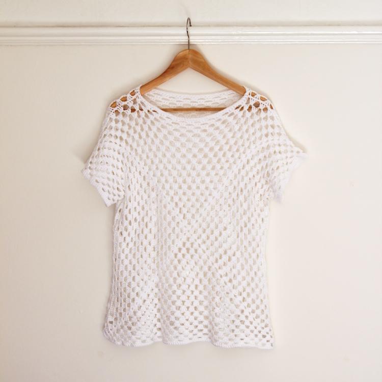Simple Crochet Cardigan Pattern Sweater Grey