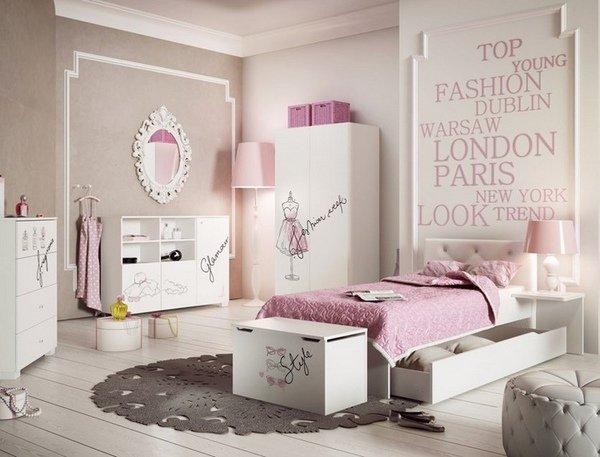 60 Desain Interior Kamar Tidur Warna Pink Untuk Perempuan Desainrumahnya Com