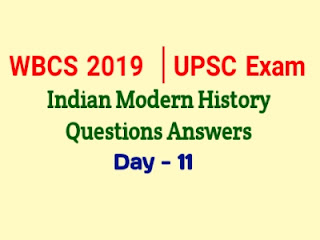 UPSC Indian Modern History Questions Answers