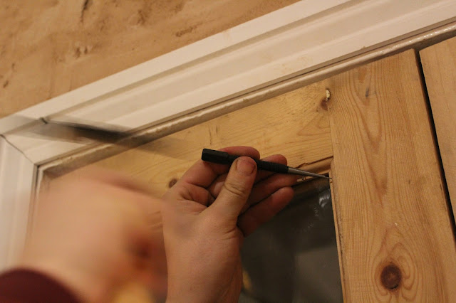 how to fit glazing in wood door