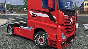 Mercedes Actros MPIV default wheels edit