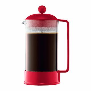 cafetera irlandesa roja