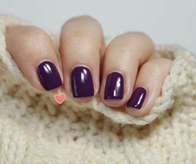 Girly Bits Eggplant One On Me swatch by Streets Ahead Style