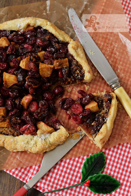 Cranberry lime galette Dorie Greenspan