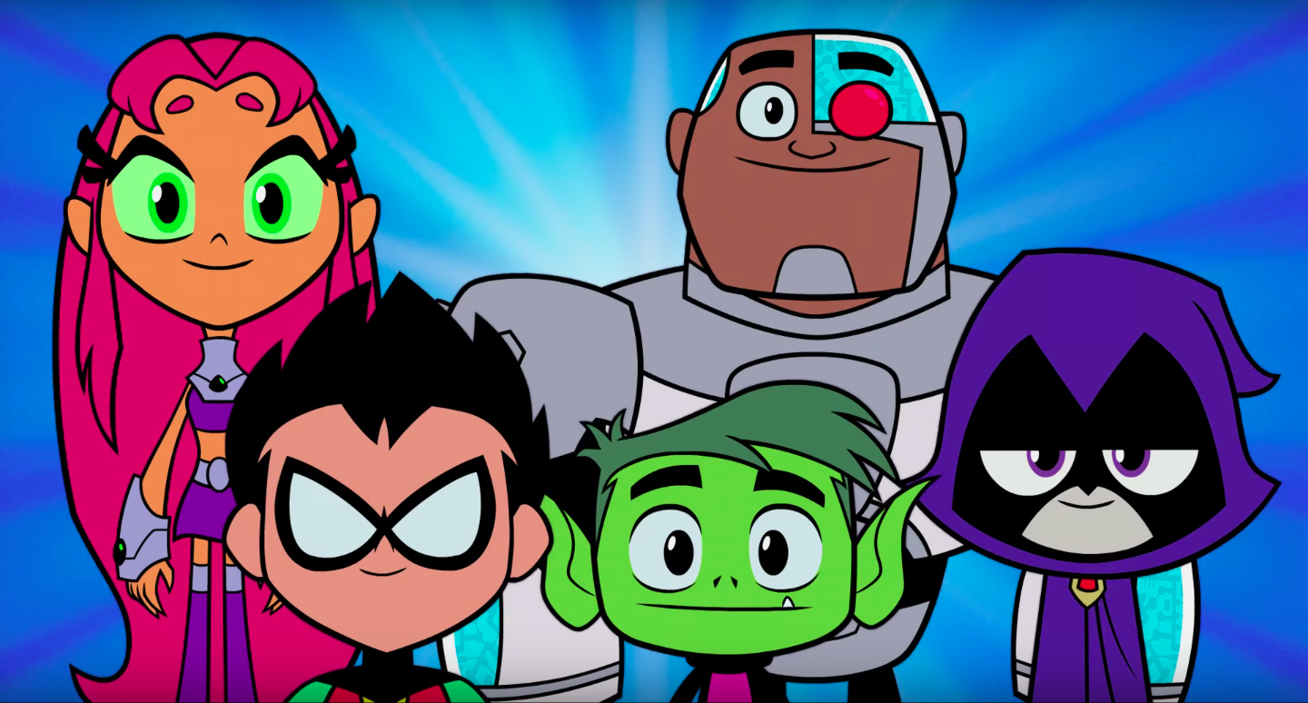 Infinite Earths The Teen Titans Go To The Movies In New -1995
