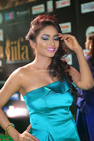 Beautiful Pooja Shri in a Neon Blue Halter Top    Exclusive 006.JPG