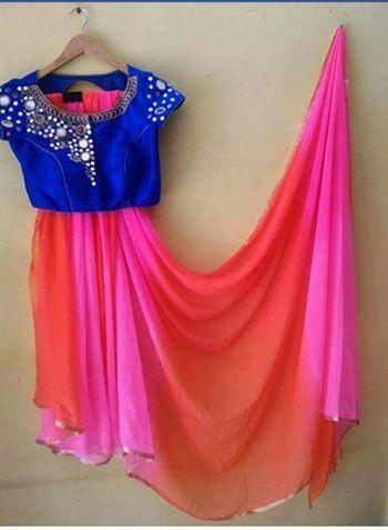 e496b86be41494 Beautiful Designer sarees With Mirror Work Blouse | Buy Designer Sarees