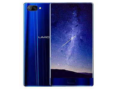 UMIDIGI Crystal blue edition specs