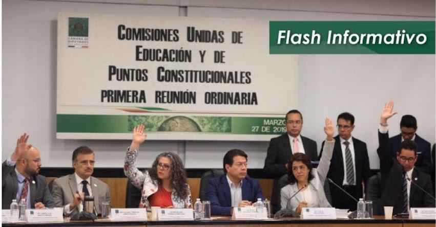 La reforma educativa en México queda «congelada», luego que la Cámara de Diputados declarara que no hay fecha para ello