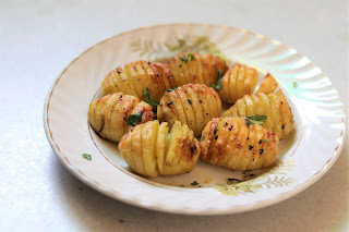Hasselback potatoes, how to make baked sliced potatoes
