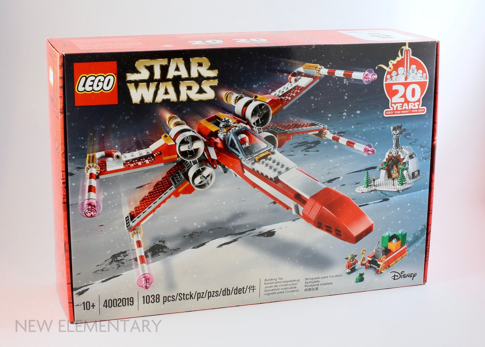 LEGO® Employee Gift 4002019 Christmas X-Wing: Build Your Own | New Elementary, a LEGO® blog of parts