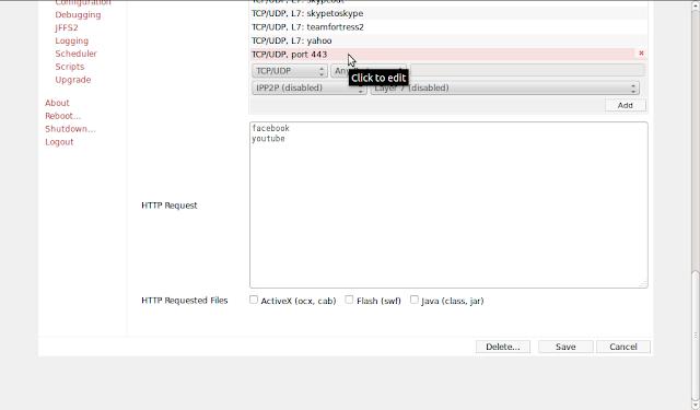 DriveMeca bloqueando trafico con firmware Tomato en un Linksys WRT54G