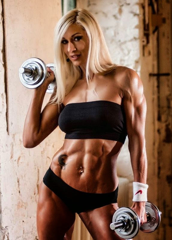 Olga Kulinych - Female Fitness Models