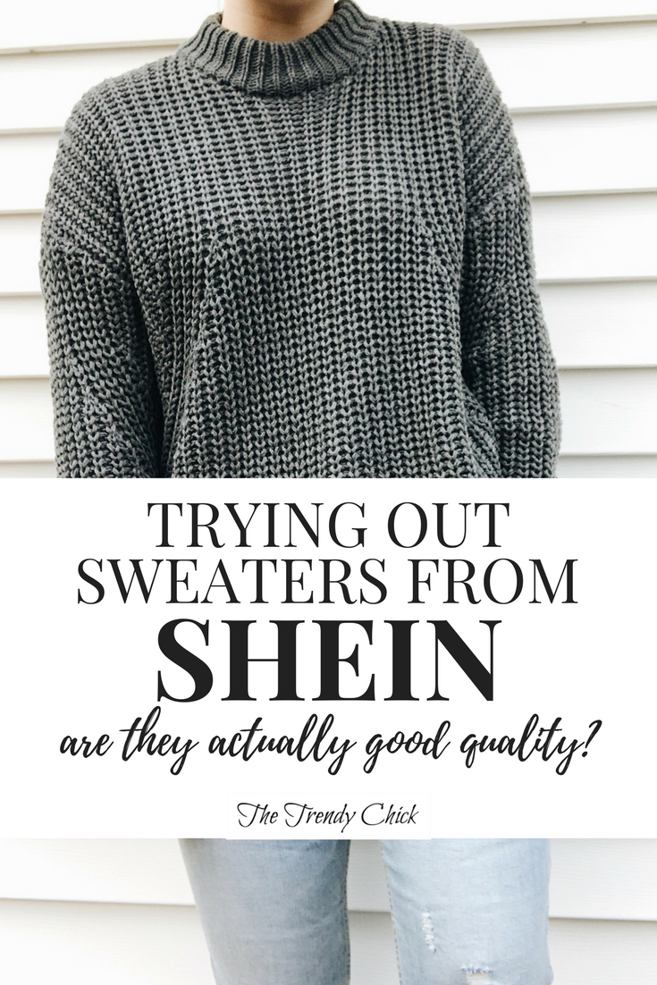 Shein Sweater Review