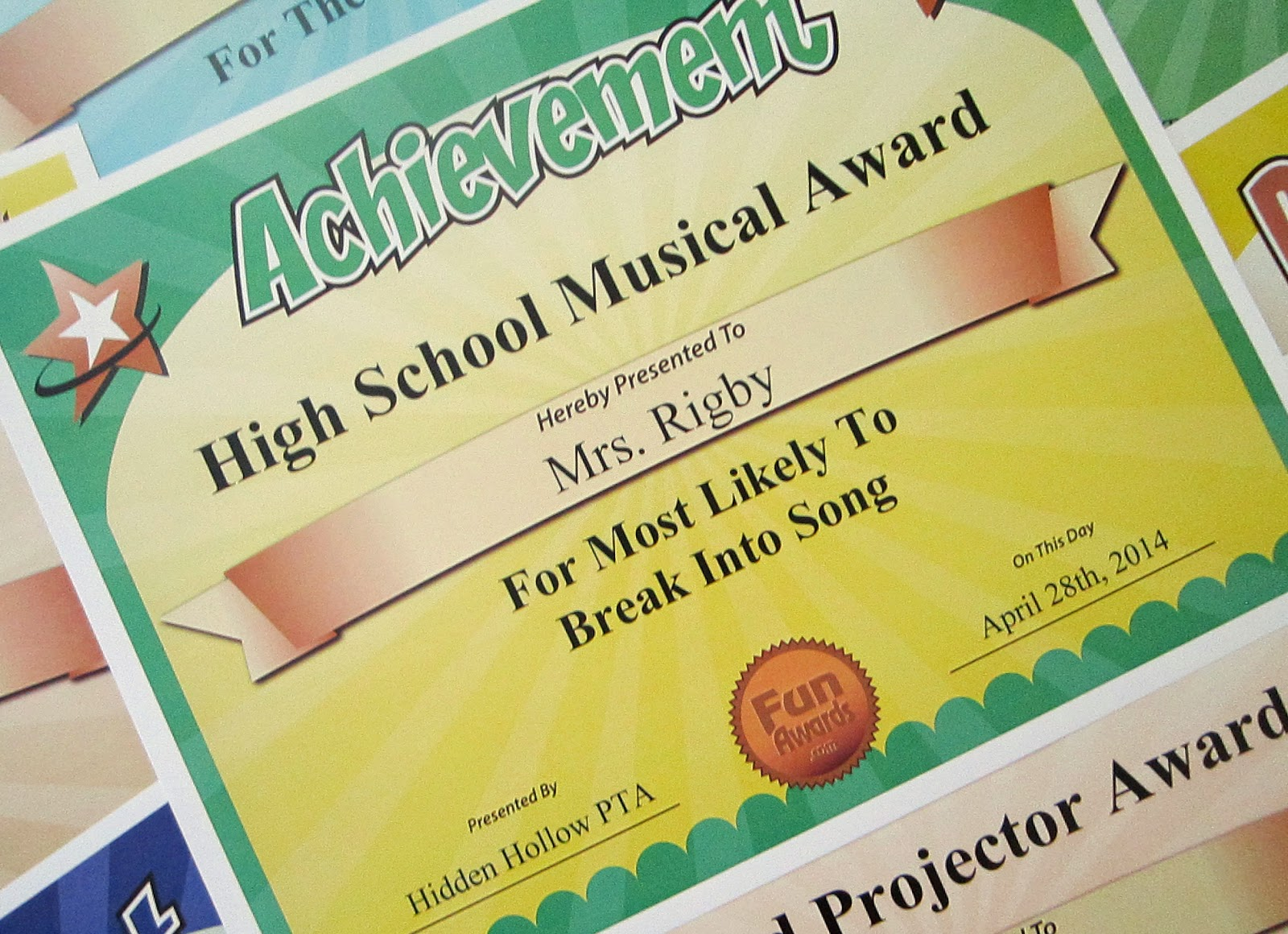 Mlt songwriting awards for students
