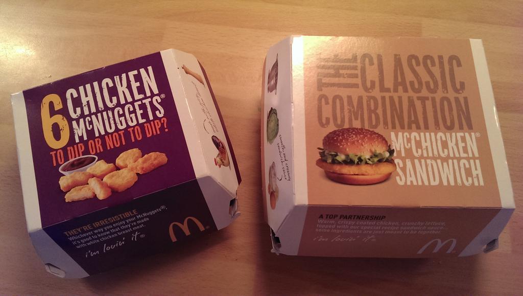 McDonalds Prices UK 2017
