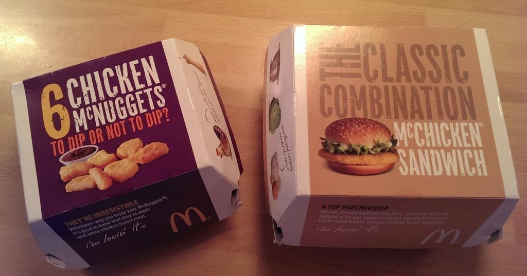 Mcdonalds Fast Food Prices Uk