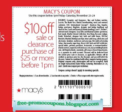 Macy's Info & Tips
