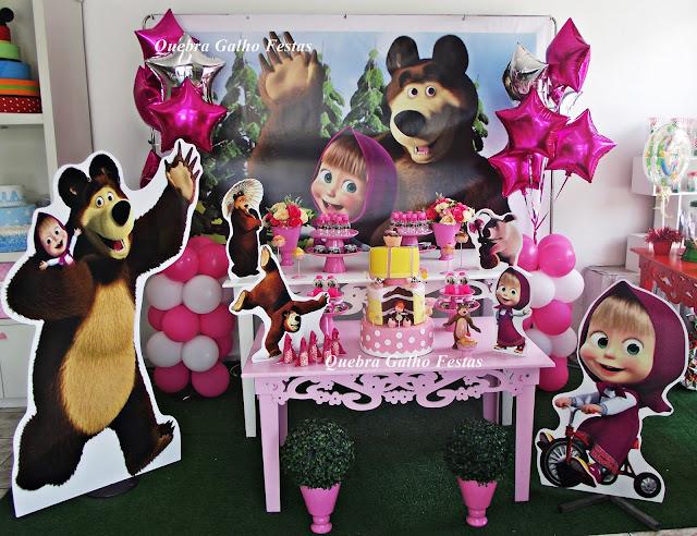 Decoraç u00e3o Provençal Quebra Galho Festas -> Decoração Para Festa Infantil Zona Leste