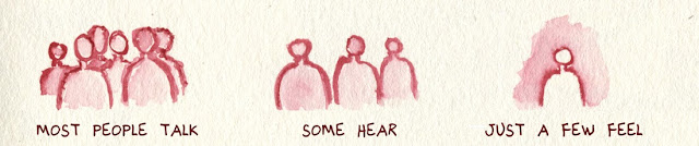 Most People Talk Some Hear Just A Few Feel