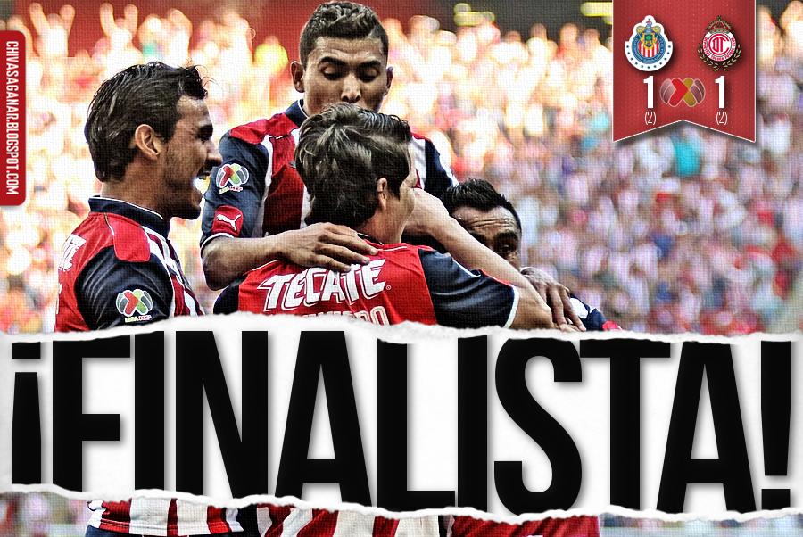 Liga MX : CD Guadalajara 1(2-2)1 Deportivo Toluca FC - Clausura 2017 - Semi/Vuelta.