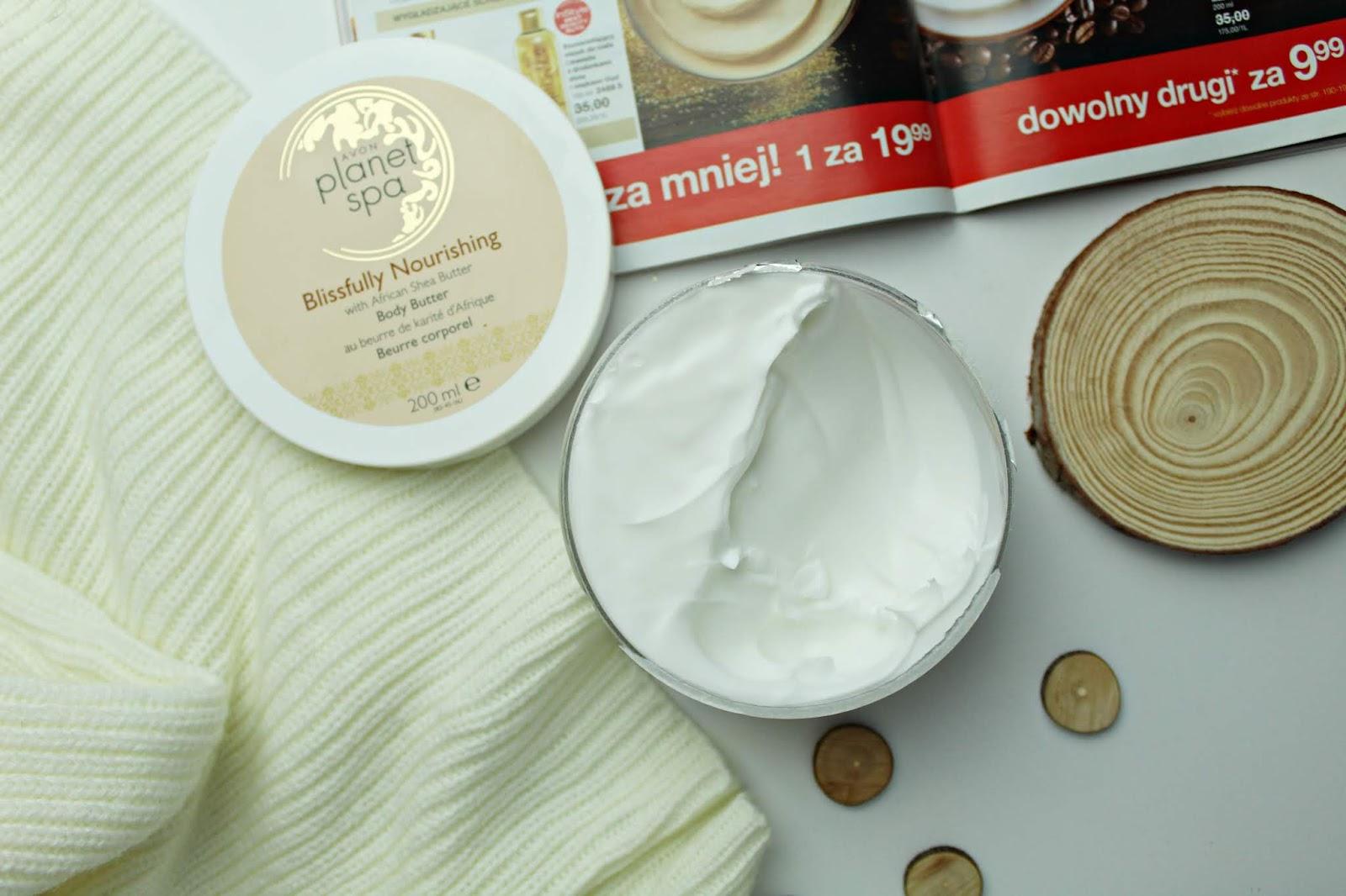 Avon Planet Spa Blissfully Nourishing body butter, czyli odżywcze masło do ciała z masłem shea