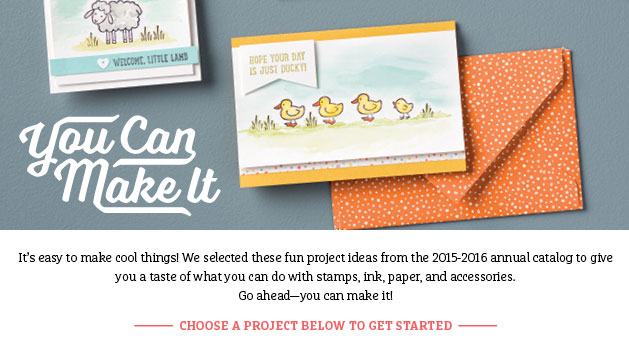 Project Ideas - You Can Make It!