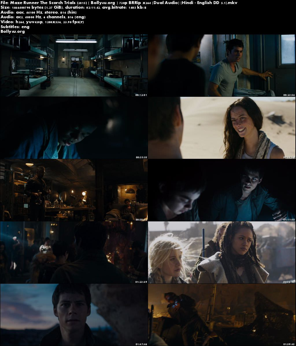 Maze Runner: The Scorch Trials YIFY subtitles