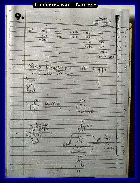 Benzene Notes9
