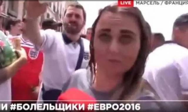 لن تصدقوا ماذا فعلوا بالمذيعة أثناء الإشتباكات بين الأنجليز والروس! على الهواء مباشرة !