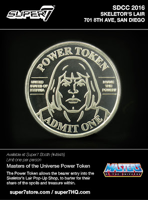 San Diego Comic-Con 2016 Exclusive Masters of the Universe Power Token by Super7