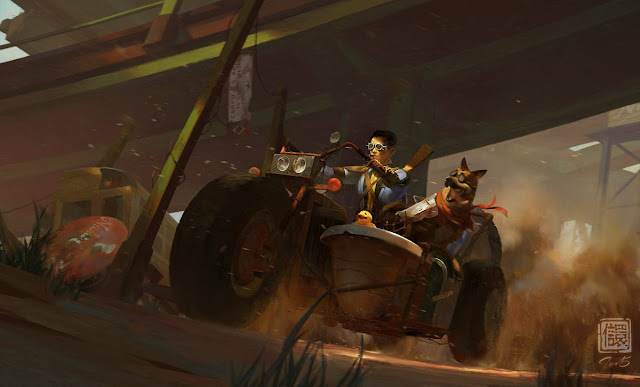 Fallout 4 Fan Art by Kan Liu