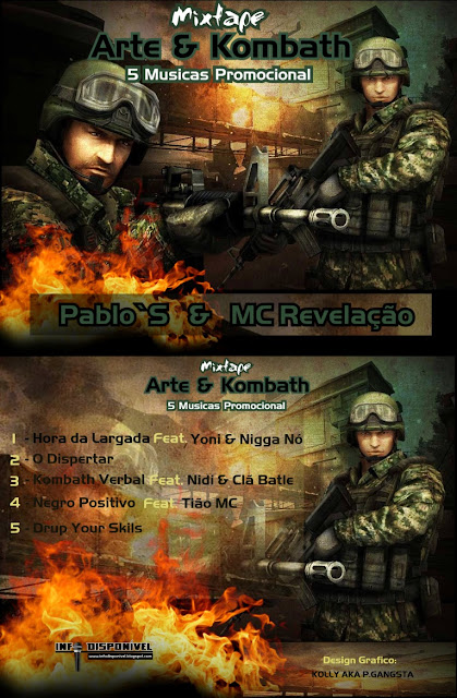 "Pablo`S & MC Revelação - Mixtape ""Arte & Kombath"" (Promo) [Download Gratuito]‏"