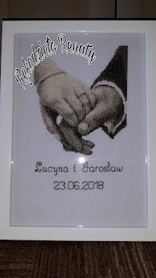 Pamiątka ślubna Vervaco 45.158