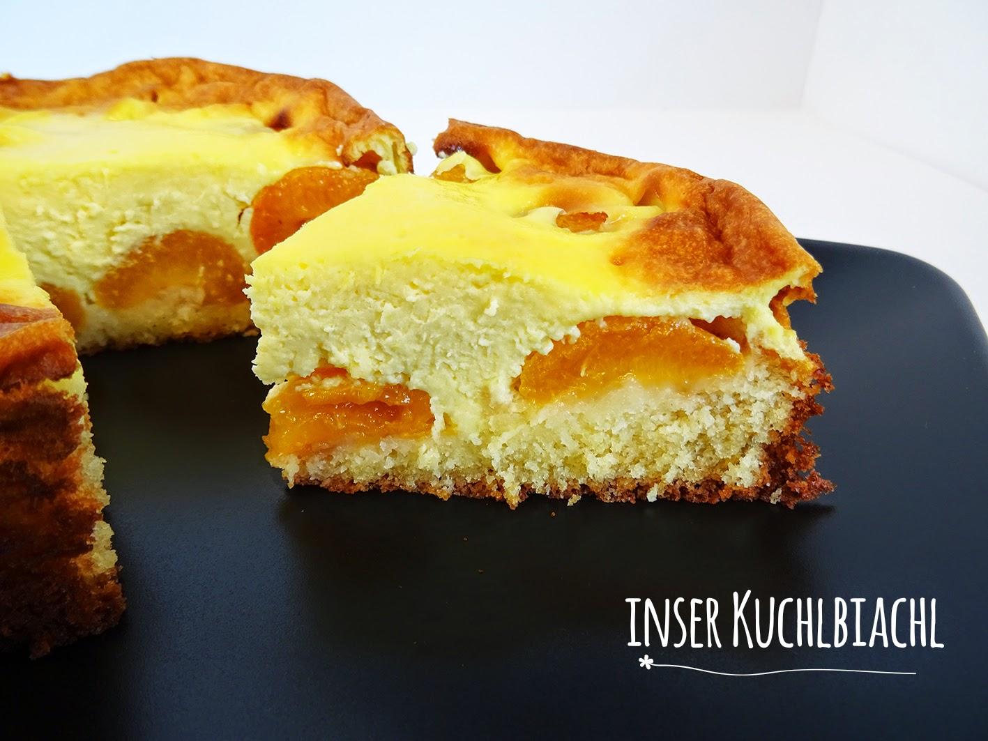 Inser Kuchlbiachl Aprikosen Schmand Kuchen